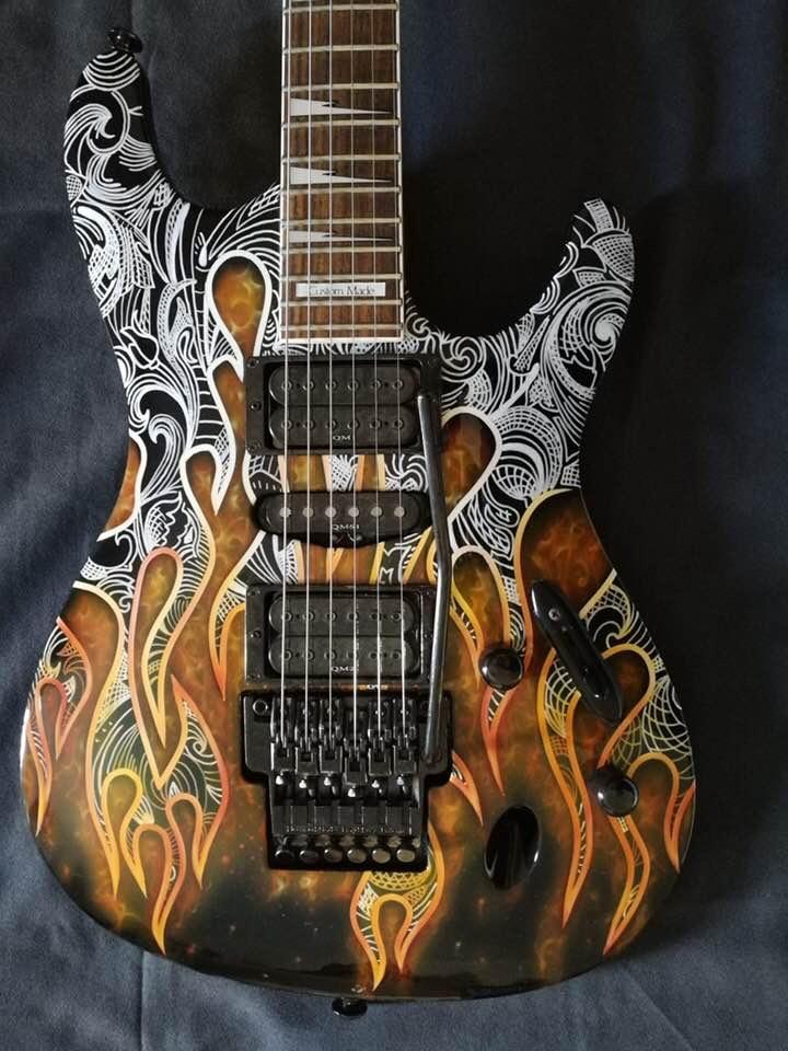 darioart-chitarra elettrica